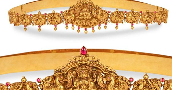 Vaddanam Designs With Price And Weight Antique Jewellery Designs Gold Jewellery Design Necklaces Vaddanam Designs