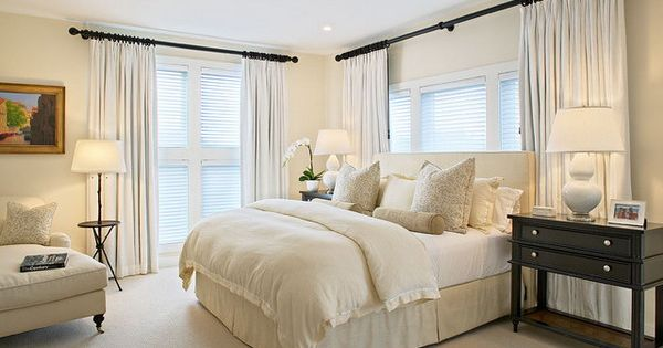 Pale white bedroom color ideas raising the bedroom for Decoracion king hogar