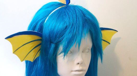 Vaporeon Cosplay Ears Vaporeon Fins Headband...