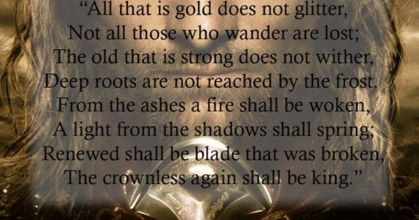 """Lord of the Rings"" quotes"