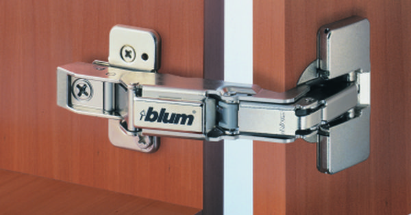 Blum 71t6650 170 Degree Hinge Half Cranked Screw On Style Clip Top Hinges For Cabinets Diy Cabinet Doors Hinges
