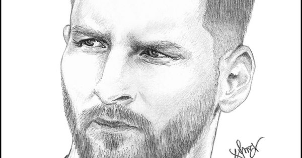 Leo Messi Sketch | My Sketch Book | Pinterest | Messi Sketches And Lionel Messi