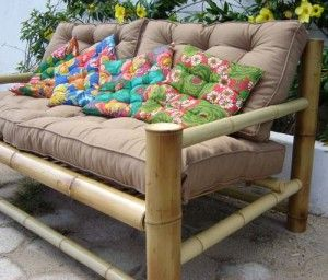 Moda Casa Modelos De Sofas Feitos De Bambu Com Imagens