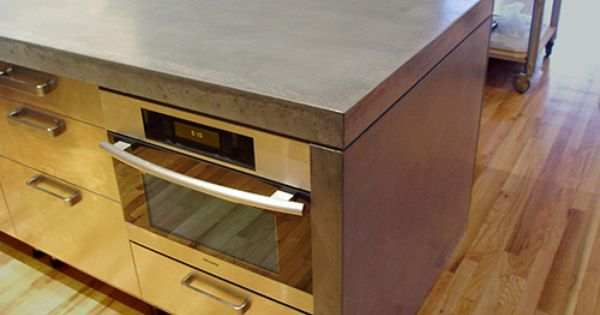 Concrete Countertop Portfolio Brooks Custom Mount Kisco Ny