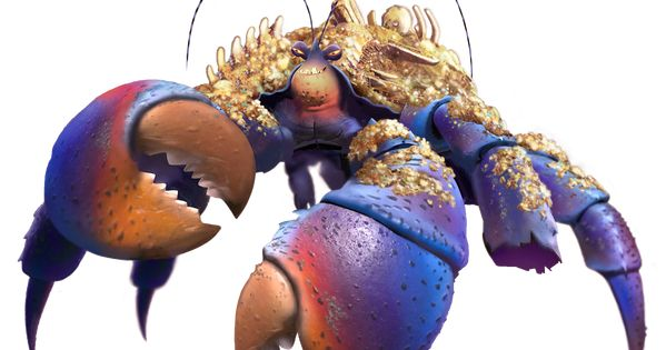 Tamatoa From Moana Found Here Http Vignette1 Wikia