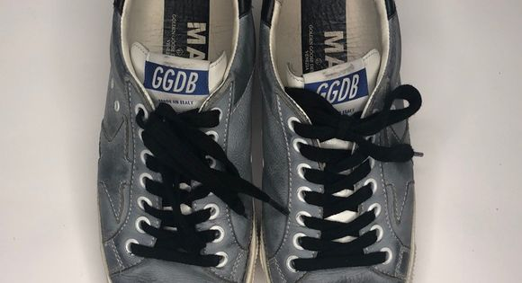 Golden Goose Deluxe May Sneaker With Images Golden Goose Shoes