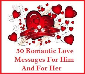 50 Romantic Messages With Images Valentines Day Messages