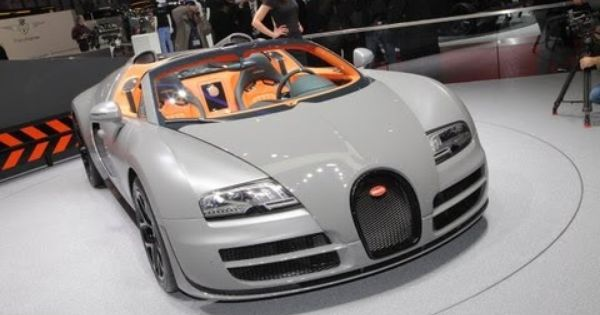 2013 bugatti veyron 16 4 grand sport vitesse 2012 geneva auto show cars of character. Black Bedroom Furniture Sets. Home Design Ideas
