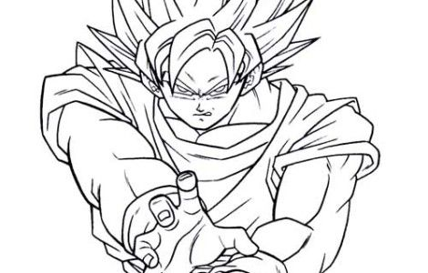 Pin by Charles Almond on coloring book pages | Dragon ball ...