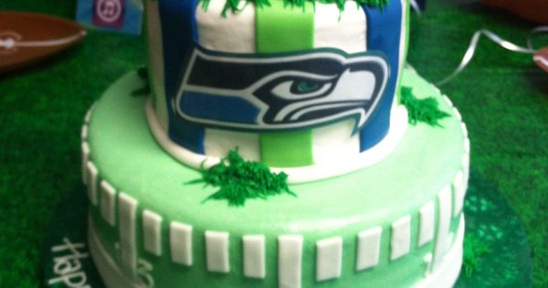 Seahawks Cake Carter Would Love This My Hawks