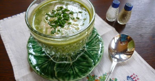of tahini makes this soup so creamy and good. Broccoli-Spinach Soup ...