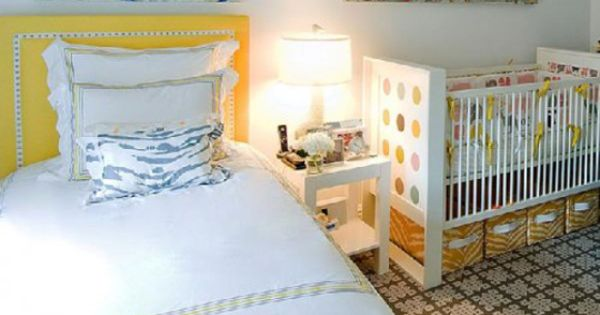 Master bedroom with crib for the home pinterest for Master bedroom with crib ideas