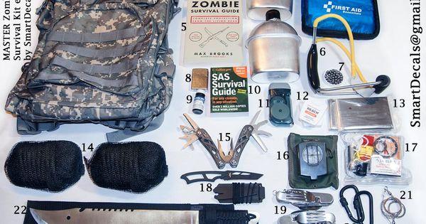 Zombie Apocalypse Survival Kit MASTER Necessities Military Outbreak 2 Person. $299.99, via