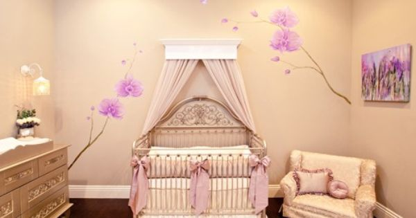Baby Nursery, Marvellous And Unique Baby Girl Nursery Themes With Soft Wall