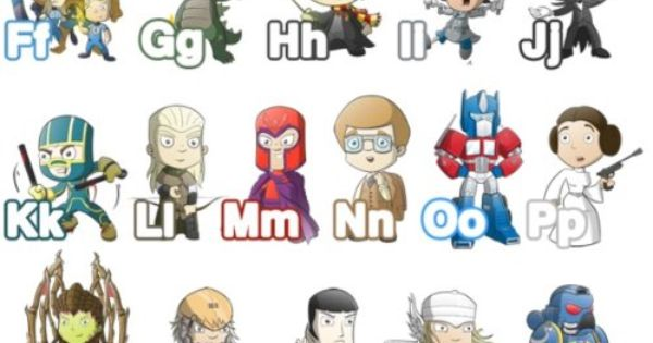 AWESOME Geek ABCs