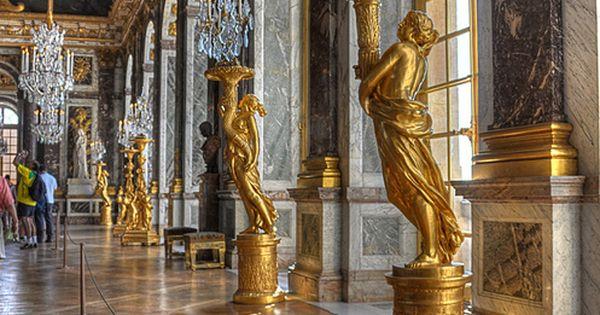 Mirror Hall - Palace of Versailles - Galerie des Glaces Château de