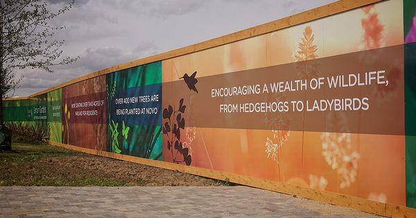 Hoarding billboards design pinterest