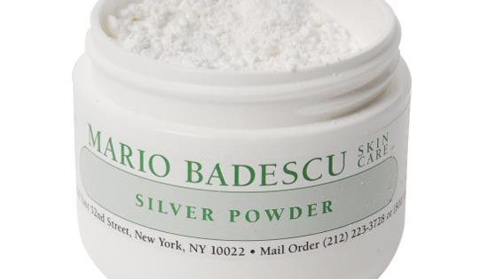 This Weird Beauty Product Is Making A Comeback Beautyhackseyebrows Mario Badescu Silver Powder Different Types Of Acne Mario Badescu