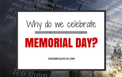 memorial day celebrated for