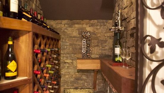 Yes Closet Under The Stairs Turned Into Wine Cellar
