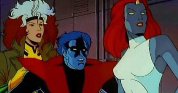 Rogue, Nightcrawler & Mystique | Mystique (X-Men ...