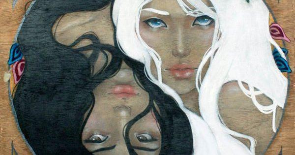 Duality by Mai Evangelista, via Behance