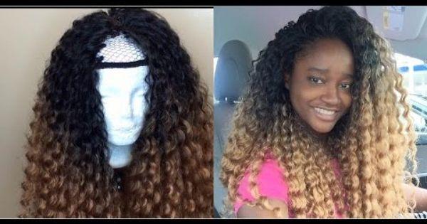 Deep Twist U Part Wig Crochet Video Crochet Videos Wig