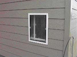 Installing Pet Door In Wall With Aluminum Or Vinyl Siding Dog Door Diy Dog Stuff Diy Doggie Door