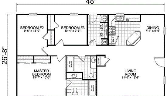 77d441e3d5317d0e47635d29ec8133b3 trailer house plans home and decor home & garden pinterest,Basic Rectangular House Plans