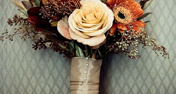 Fall Bridal Bouquets | ... Wedding Bouquet Inspiration — The Excited Bride