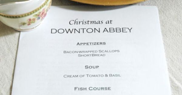 Party like it's 1917 with 'Downton Abbey' theme | Downton Abbey ...