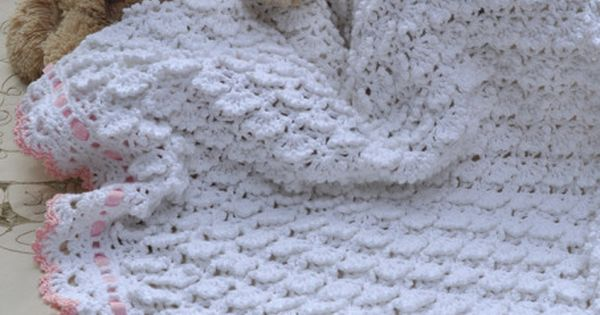 Fluffy Clouds Baby Blanket Crochet Youcanmakethis Com