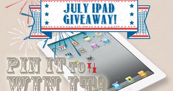 July Giveaway alert! Follow dealspl.us on Pinterest, Re-pin this post, and pin/repin