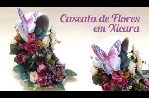 O lado de c como fazer uma cascata de flores em x cara for Arredare con fiori finti