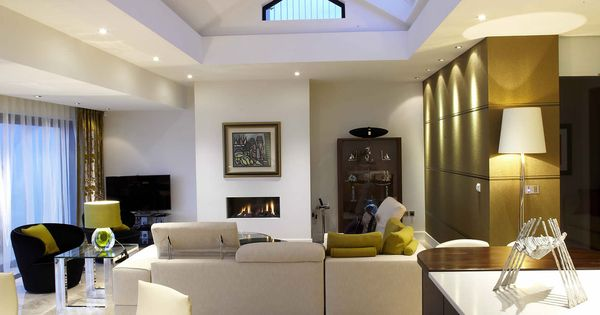 Penthouse apartment in northern ireland by kris turnbull for Living room decorating ideas ireland