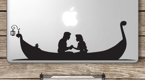 rapunzel and flynn silhouette - Google Search | Silhouette ...