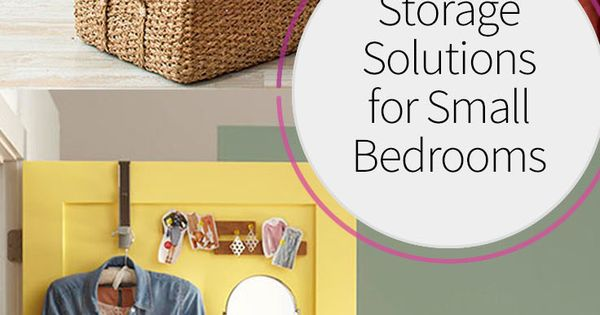 Storage solutions for small bedrooms tiny closet smart for Smart solutions for small bedrooms