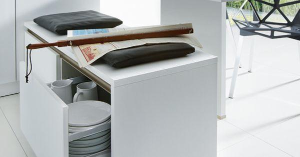 Bankje keukenkast lees meer over een praktische keukeninrichting - Open keukeninrichting ...