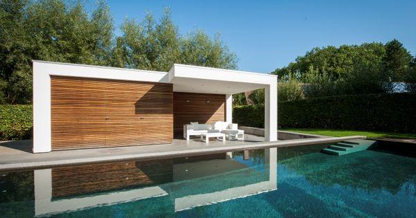 modern pool house google suche gartenhaus pinterest. Black Bedroom Furniture Sets. Home Design Ideas