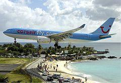 Maho Beach Wikipedia The Free Encyclopedia Sint Maarten Saint Martin Airport