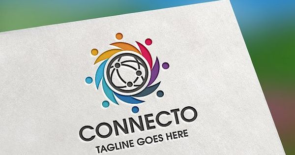 Connecto Logo – suitable for corporate and technology business