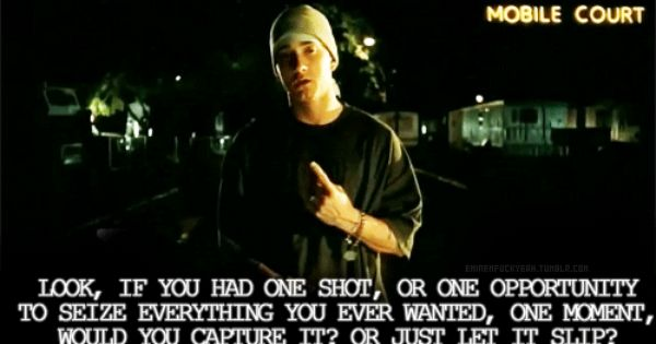Rgitalia Translations Eminem Lose Yourself Italian