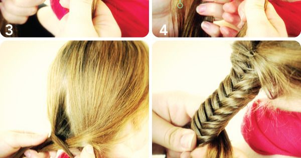 FISHTAIL BRAID - HOW TO... DIY hair style!!!