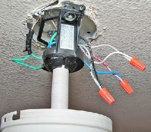Ceiling Fan And Lights Outlet Box Ceiling Fan Switch Ceiling Fan Installation Ceiling Fan