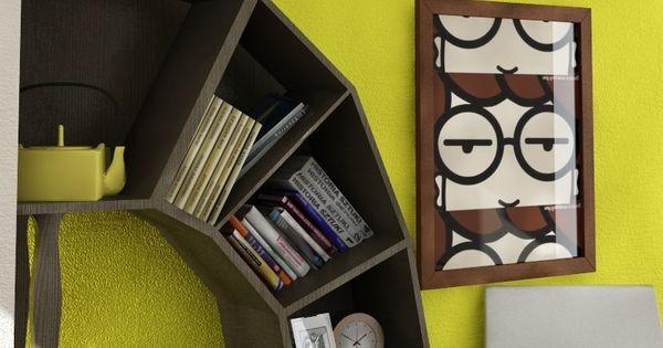 Bookshelves, Daria Poster