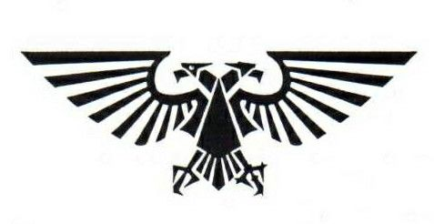 The Imerial Acquila From Warhammer 40k The Palatine Aquila Has Two Heads One Blind To The Past While Respecting And Remembering Trad Tatoo Tatuagem Espartano