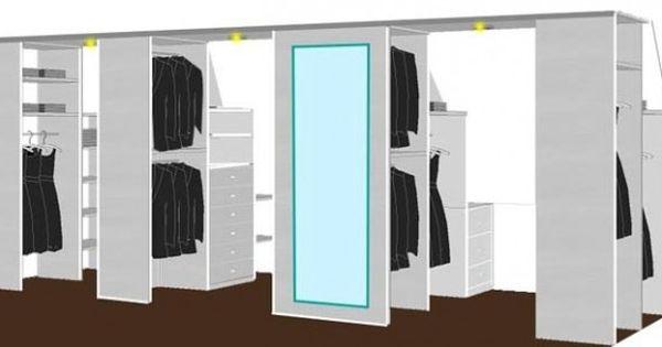 Idee voor zolder onder schuifdak tips en truk pinterest kast opslag en zolderkamers - Idee kast onder helling ...