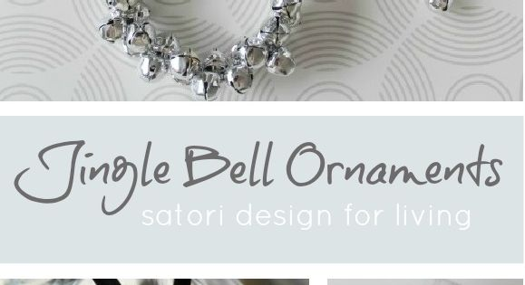 Jingle Bell Wreath Christmas Ornament These are so pretty, versatile as well