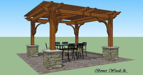 Tuscan Design Bower Woods Llc Custom Garden Structures