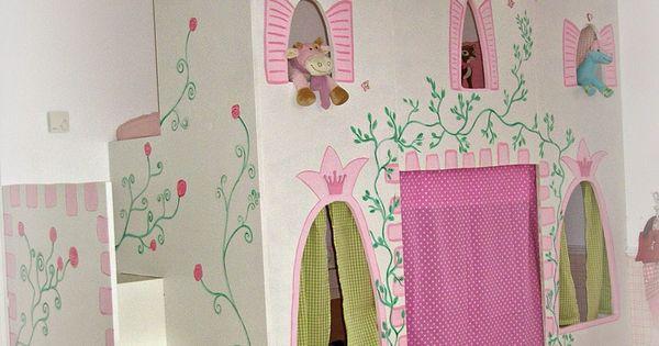 zimmereinblick der kleinen prinzessin schloss hochbetten und ikea. Black Bedroom Furniture Sets. Home Design Ideas